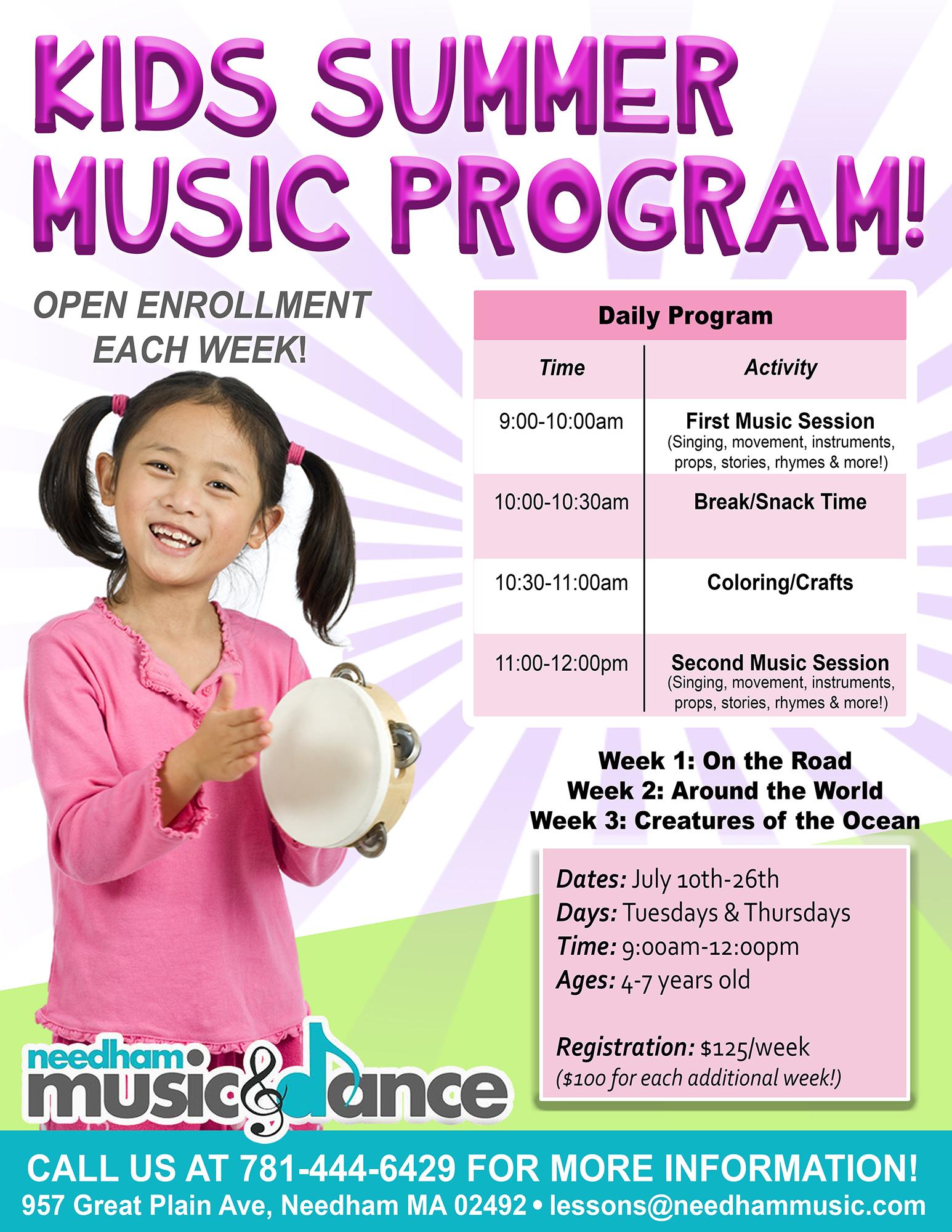 Kids Summer Music Program